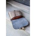 Torebka lub plecak Molly większy rozmiar vintage brąz