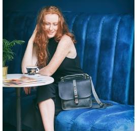 Torebka lub plecak Molly większy rozmiar kolor czarny i szary