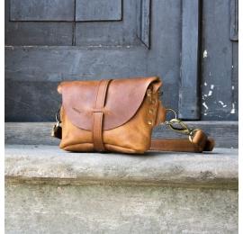Nerka / torebka na ramię rozmiar L kolor whiskey