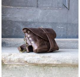 Nerka / torebka na ramię rozmiar L kolor brąz