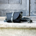 Fanny pack / cross body leather bag