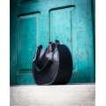 podręczna torebka w kolorze czarnym od ladybuq art, torba basia w 4 różnych rozmiarach