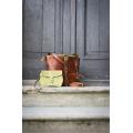 Torebka skórzana recznie robiona oryginalna Julia mniejszy rozmiar z paskiem ,zamkiem i kopertówka