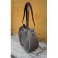 "Handmade leather bag ""Basia"" Camel color SIZE L"