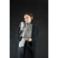 Leder tasche mit Kette original Geldbörse von Ladybuq Art