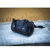 Handgefertigte Leder Geldbörse Pepa Farbe schwarz