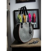 "Handmade leather bag ""Basia"" Camel color SIZE M"