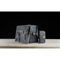 A beautiful leather set containing a Coffer, wallet, organizer and notebook created by ladbuq art