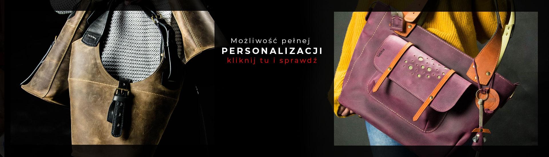 Obalamy mit, że nie ma czegoś takiego jak idealna torebka! Dzięki naszym opcjom personalizacji już teraz możesz zamówić torbę, która w 100% będzie spełniać Twoje oczekiwania!