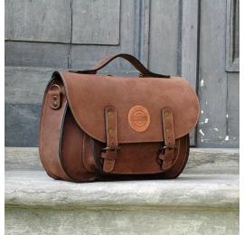 Messenger brązowy rozmiar S / plecak