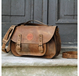 Messenger brązowy/ plecak