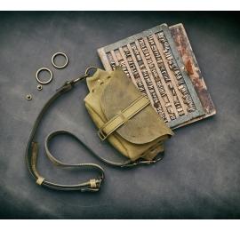 Nerka / torebka przez ramię / Limonka