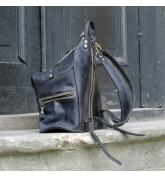Rucksack / Tasche Vintage Braun und Irgwen