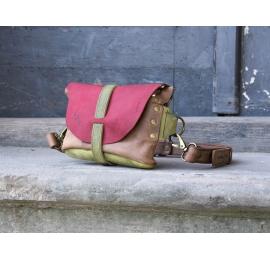 Nerka / torebka na ramię beżowa rozmiar M